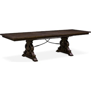 Charthouse Rectangular Dining Table - Charcoal