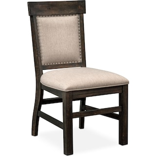 Charthouse Upholstered Dining Chair - Charcoal