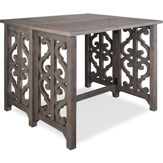 Charthouse Breakfast Bar - Gray