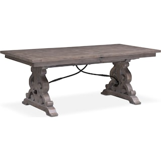 Charthouse Rectangular Dining Table - Gray