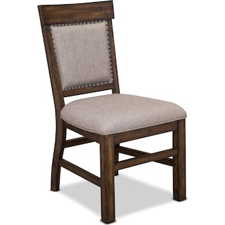 Charthouse Upholstered Dining Chair - Nutmeg