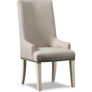 Charthouse Host Chair - Alabaster