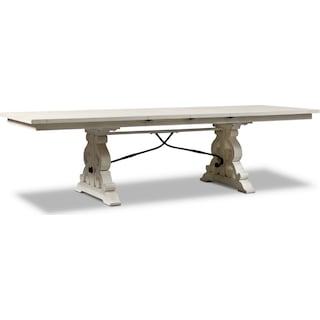 Charthouse Rectangular Dining Table - Alabaster
