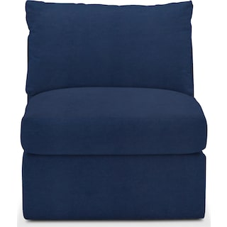 Collin Comfort Armless Chair - Toscana Navy
