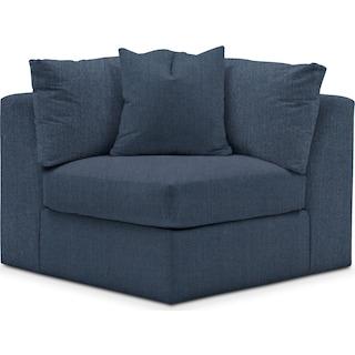 Collin Comfort Performance Corner Chair - Peyton Navy
