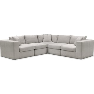 Collin Comfort 5-Piece Sectional - Dudley Gray