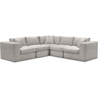 Collin Cumulus 5-Piece Sectional - Dudley Gray