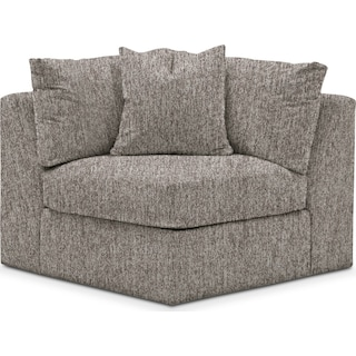 Collin Comfort Performance Corner Chair - Halifax Dove