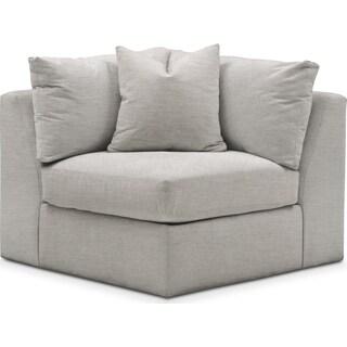 Collin Comfort Corner Chair - Dudley Gray