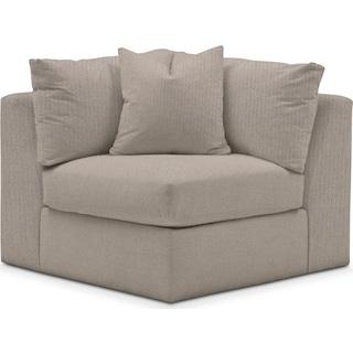 Collin Comfort Corner Chair - Weddington Cement