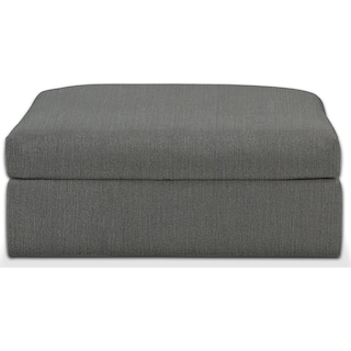 Collin Comfort Performance Ottoman - Peyton Pepper