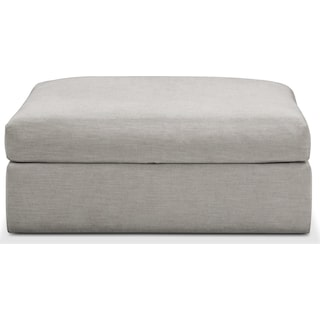 Collin Comfort Ottoman - Dudley Gray