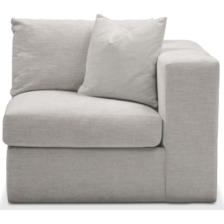 Collin Cumulus Right-Facing Chair - Dudley Gray