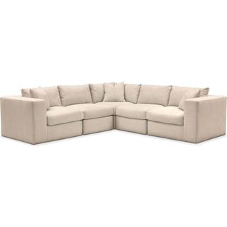 Collin Comfort Performance 5-Piece Sectional - Halifax Shell