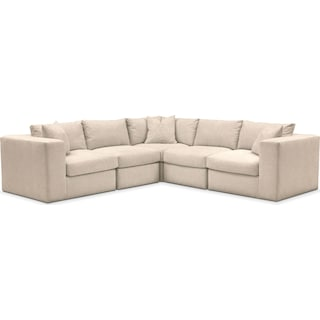 Collin Cumulus Performance 5-Piece Sectional - Halifax Shell