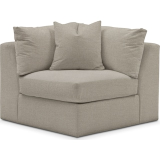 Collin Comfort Performance Corner Chair - Benavento Dove