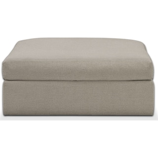 Collin Cumulus Performance Ottoman - Benavento Dove