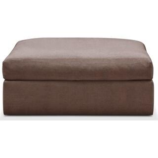 Collin Comfort Ottoman - Oakley III Java