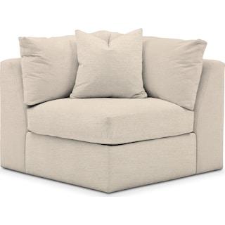 Collin Cumulus Corner Chair - Pearl