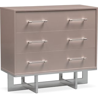 Concerto 3-Drawer Chest - Champagne