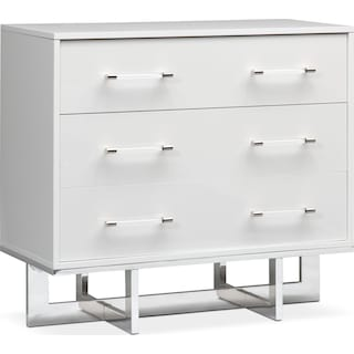 Concerto 3-Drawer Chest - White