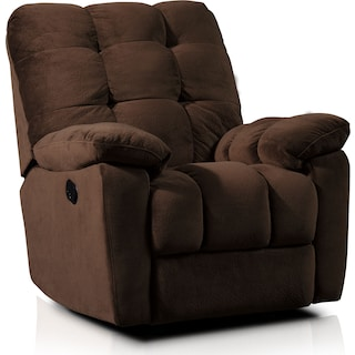 Cordelle Manual Recliner - Brown
