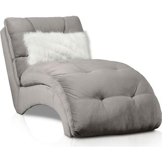 Cordelle Chaise - Gray