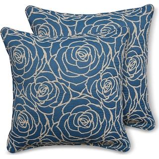 2-Pack Custom Pillows -  Aruba Ocean