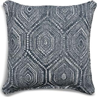 Custom Pillow - Seaton Indigo