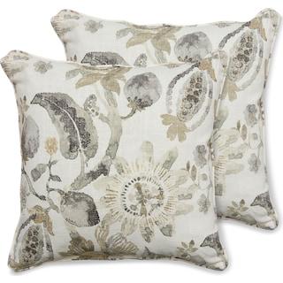 2-Pack Custom Pillows -  Anastasia Sand Dune