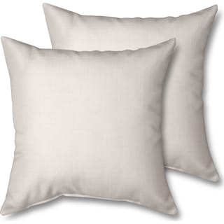 2-Pack Custom Pillows -  Anders Ivory