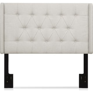 Daphne King Upholstered Headboard - White
