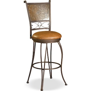 Darby Bar Stool - Brown