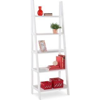 Davis Bookcase - White