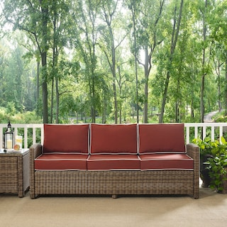 Destin Outdoor Sofa - Sangria
