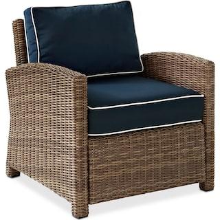 Destin Outdoor Chair - Blue