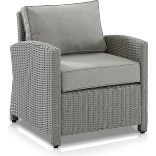 Destin Outdoor Chair - Gray