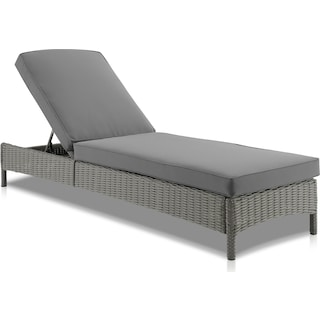 Destin Outdoor Chaise Lounge