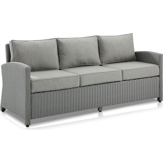 Destin Outdoor Sofa - Gray