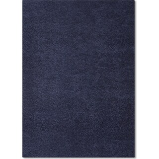 Domino Shag 5' x 8' Area Rug - Blue