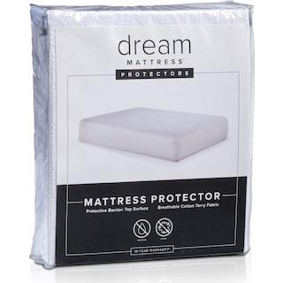 Dream Twin XL Terry Mattress Protector