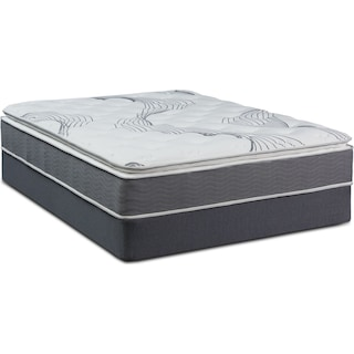 Dream-In-A-Box Premium Soft Full Mattress and Foldable Foundation