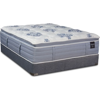 Dream Revive Soft Queen Mattress and Low-Profile Foundation