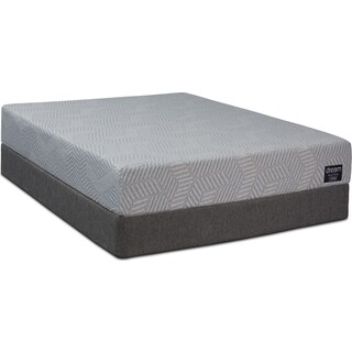 Dream-In-A-Box Ultra Firm Queen Mattress and Foldable Foundation