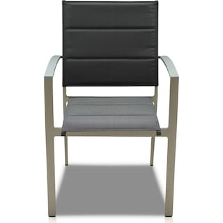 Edgewater Set of 6 Outdoor Chairs - Gray