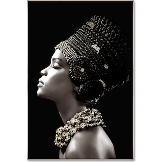 Embellished Headdress Wall Art