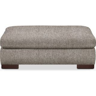 Ethan Comfort Performance Ottoman - Halifax Dove