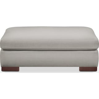 Ethan Comfort Ottoman - Dudley Gray