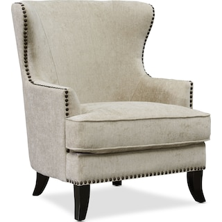Eva Accent Chair - Gray
