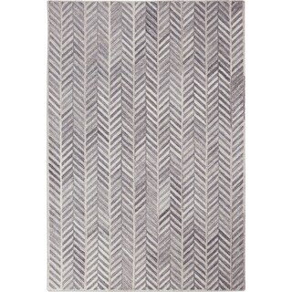 Everest 5' x 8' Area Rug - Ivory/Gray